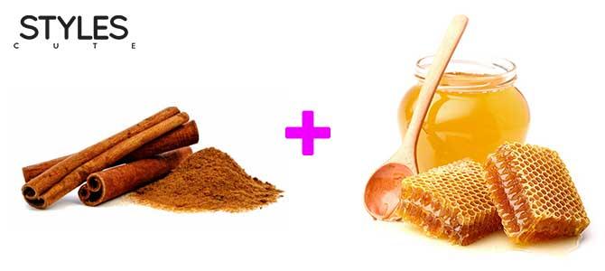 รักษาสิวอักเสบ ด้วยอบเชยกับน้ำผึ้ง